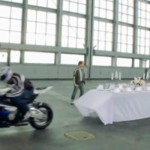 BMW S 1000 RR pulls off the old tablecloth trick