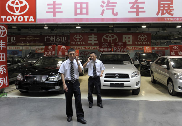 toyota dealer in china  China considering upping hybrid car incentives