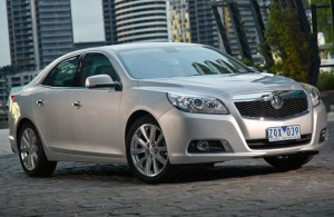 2013 holden malibu 628 300x195  Holden launches tuned, pre facelifted Malibu in Australia