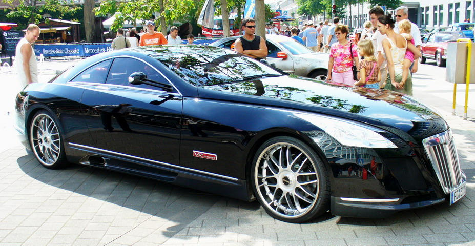 Maybach exelero stuttgart The 8 Million Dollar Maybach Exelero