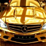 23_Chrome_Gold_Mercedes_Benz_C63_AMG_5