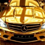 The Gold Mercedes