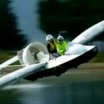 Zero wheels, all awesome – Homebuilt Kiwi 'hovercraft'
