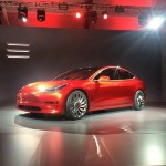 Billionaire Elon Musk unveils Tesla's 'affordable' $35,000 Model 3 that does 0 to 60mph in under 6 seconds
